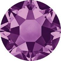 Swarovski Crystal Flatback Hotfix 2078 SS-16 ( 3.90mm) - Amethyst (F)- 1440 Pcs