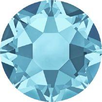 Swarovski Crystal Flatback Hotfix 2078 SS-16 ( 3.90mm) -Aquamarine (F)- 1440 Pcs