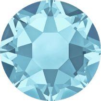 Swarovski Crystal Flat Back Hotfix 2078 SS 30 (6.41mm) AQUAMARINE A HF-288 Pcs.