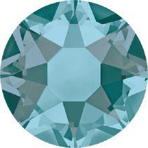Swarovski Crystal Flatback Hotfix 2078 SS-34 ( 7.17mm) - Blue Zircon Satin (F)- 144 Pcs