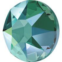 Swarovski Crystal Flatback Hotfix 2078 SS-34 ( 7.17mm) - Blue Zircon Shimmer (F)- 144 Pcs