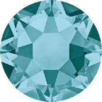 Swarovski Crystal Flatback Hotfix 2078 SS-34 ( 7.17mm) -Blue Zircon (F)- 144 Pcs
