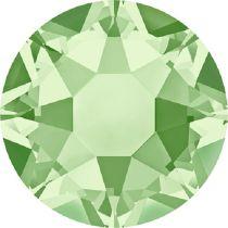 Swarovski Crystal Flatback Hotfix 2078 SS-34 ( 7.17mm) - Chrysolite (F)- 144 Pcs