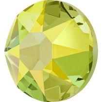 Swarovski Crystal Flatback Hotfix 2078 SS-34 ( 7.17mm) - Citrine Shimmer (F)- 144 Pcs