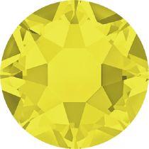 Swarovski Crystal Flatback Hotfix 2078 SS-34 ( 7.17mm) - Citrine  (F)- 144 Pcs