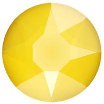 Swarovski Crystal Flatback Hotfix 2078 SS-34 ( 7.17mm) - Crystal Buttercup (F)- 144 Pcs