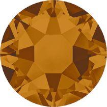 Swarovski Crystal Flatback Hotfix 2078 SS-16 ( 3.90mm) - Crystal Copper (F)- 1440 Pcs