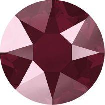 Swarovski Crystal Flatback Hotfix 2078 SS-34 ( 7.17mm) - Crystal Dark Red (F)- 144 Pcs