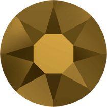 Swarovski Crystal Flatback Hotfix 2078 SS-16 ( 3.90mm) - Crystal Dorado(F)- 1440 Pcs