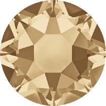Swarovski Crystal Flatback Hotfix 2078 SS-34 ( 7.17mm) - Crystal Golden Shadow (F)- 144 Pcs