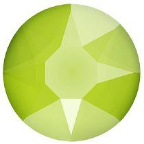Swarovski Crystal Flatback Hotfix 2078 SS-34 ( 7.17mm) - Crystal Lime (F)- 144 Pcs