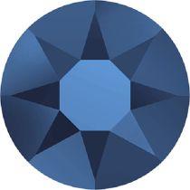 Swarovski Crystal Flatback Hotfix 2078 SS-16 ( 3.90mm) - Crystal Metallic Blue (F)- 1440 Pcs
