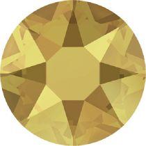 Swarovski Crystal Flatback Hotfix 2078 SS-34 ( 7.17mm) - Crystal Metallic Sunshine (F)- 144 Pcs