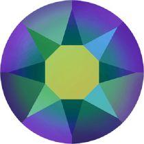 Swarovski Crystal Flatback Hotfix 2078 SS-34 ( 7.17mm) -Crystal Scarabaeus Green (F)- 144 Pcs