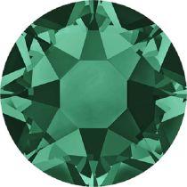 Swarovski Crystal Flatback Hotfix 2078 SS-16 ( 3.90mm) - Emerald (F)- 1440 Pcs