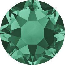 Swarovski Crystal Flat Back Hotfix 2078 SS 30 (6.41mm) EMERALD A HF-288 Pcs.