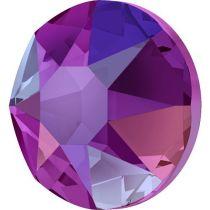 Swarovski Crystal Flatback Hotfix 2078 SS-34 ( 7.17mm) - Fuchsia Shimmer (F)- 144 Pcs