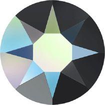 Swarovski Crystal Flatback Hotfix 2078 SS-34 ( 7.17mm) - Jet Aurore Boreale (F)- 144 Pcs