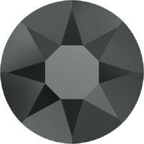 Swarovski Crystal Flatback Hotfix 2078 SS-30 (6.41mm) - Jet Hematite (F) -  288 Pcs