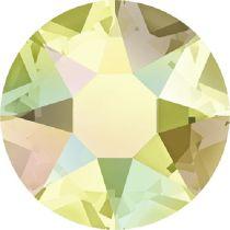 Swarovski Crystal Flatback Hotfix 2078 SS-34 ( 7.17mm) - Jonquil Aurore Boreale (F)- 144 Pcs