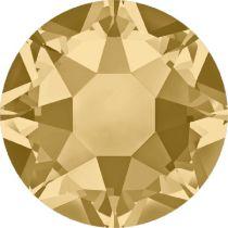 Swarovski Crystal Flat Back Hotfix 2078 SS 30 (6.41mm) LIGHT COLORADO TOPAZ A HF-288 Pcs.