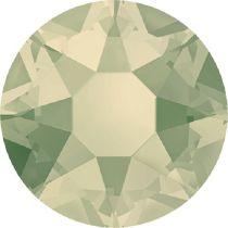 Swarovski Crystal Flatback Hotfix 2078 SS-16 ( 3.90mm) - Light Grey Opal (F)- 1440 Pcs
