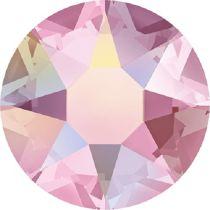 Swarovski Crystal Flatback Hotfix 2078 SS-34 ( 7.17mm) - Light Rose Aurore Boreale (F)- 144 Pcs