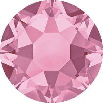Swarovski Crystal Flatback Hotfix 2078 SS-16 ( 3.90mm) -Light Rose (F)- 1440 Pcs