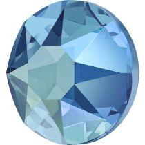 Swarovski Crystal Flatback Hotfix 2078 SS-34 ( 7.17mm) - Light Sapphire Shimmer  (F)- 144 Pcs