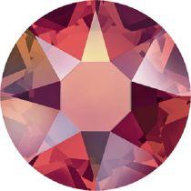 Swarovski Crystal Flatback Hotfix 2078 SS-34 ( 7.17mm) - Light Siam Aurore Boreale (F)- 144 Pcs