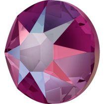 Swarovski Crystal Flatback Hotfix 2078 SS-34 ( 7.17mm) - Light Siam Shimmer (F)- 144 Pcs