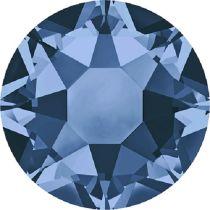 Swarovski Crystal Flatback Hotfix 2078 SS-30 (6.41mm) - Montana (F) -  288 Pcs