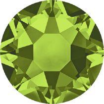 Swarovski Crystal Flatback Hotfix 2078 SS-16 ( 3.90mm) - Olivine (F)- 1440 Pcs
