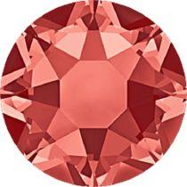 Swarovski Crystal Flatback Hotfix 2078 SS-16 ( 3.90mm) - Padparadscha (F)- 1440 Pcs