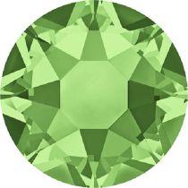 Swarovski Crystal Flatback Hotfix 2078 SS-16 ( 3.90mm) - Peridot (F)- 1440 Pcs