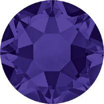 Swarovski Crystal Flatback Hotfix 2078 SS-16 ( 3.90mm) - Purple Velvet (F)- 1440 Pcs