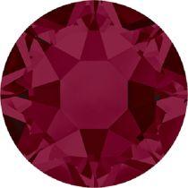 Swarovski Crystal Flatback Hotfix 2078 SS-16 ( 3.90mm) - Ruby(F)- 1440 Pcs