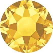 Swarovski Crystal Flatback Hotfix 2078 SS-16 ( 3.90mm) - Sunflower (F)- 1440 Pcs