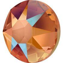 Swarovski Crystal Flatback Hotfix 2078 SS-34 ( 7.17mm) - Tangerine Shimmer  (F)- 144 Pcs