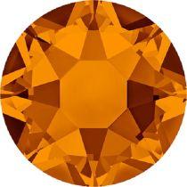 Swarovski Crystal Flatback Hotfix 2078 SS-16 ( 3.90mm) - Tangerine (F)- 1440 Pcs