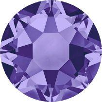 Swarovski Crystal Flatback Hotfix 2078 SS-16 ( 3.90mm) - Tanzanite (F)- 1440 Pcs