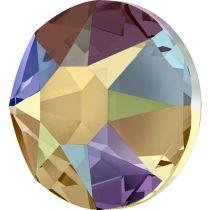 Swarovski Crystal Flatback Hotfix 2078 SS-34 ( 7.17mm) - Topaz Shimmer (F)- 144 Pcs