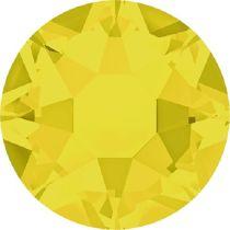 Swarovski Crystal Flatback Hotfix 2078 SS-16 ( 3.90mm) - Yellow Opal(F)- 1440 Pcs