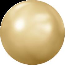 Swarovski Crystal Flat Back Hotfix 2080_4 Pearl Cabochons Flat Back SS-34  ( 7.17mm) - Crystal Golden Shadow (F) - 144 Pcs