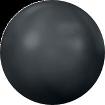 Swarovski Crystal Flat Back Hotfix 2080_4 Pearl Cabochons Flat Back SS-34  ( 7.17mm) - Jet Hematite (F) - 144 Pcs