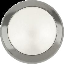 Swarovski Crystal Flatback Hotfix 2080 H Rimmed Flat Back  SS-34  (7.17mm) Crystal White Pearl GM (F) -  144 Pcs