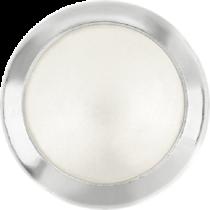 Swarovski Crystal Flatback Hotfix 2080 H Rimmed Flat Back  SS-34  (7.17mm) Crystal White Pearl SR (F) -  144 Pcs