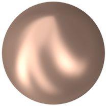 Swarovski Crystal Flatback Hotfix Cabochon Pearl 2081/2 SS 34 (7.17 mm) Crystal Rose Gold Pearl