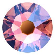 Swarovski Crystal Flatback No Hotfix 2058 SS-9 (2.60mm) -Rose Peach Shimmer (F) - 1440 Pcs