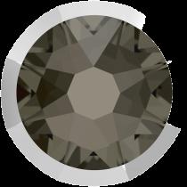 Swarovski Crystal Flatback No Hotfix 2088 I Rimmed Flat Back SS-16  Black Diamond Light Chrome (F) -  1440 Pcs
